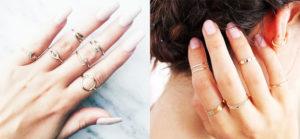 はめる位置で意味が変わる?指輪の指の意味について