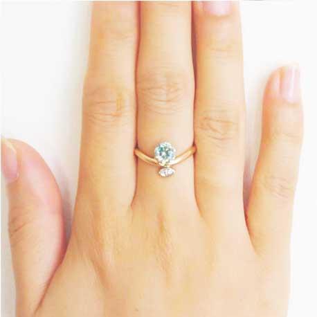 指輪の指の意味:中指の指輪(ミドルフィンガーリング)